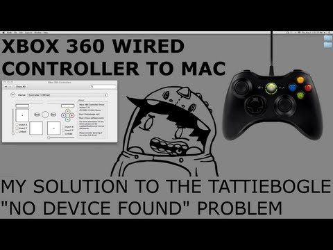 XBOX 360 Wired Controller To Mac Help