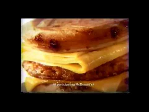 McDonald's McGriddle sandwich
