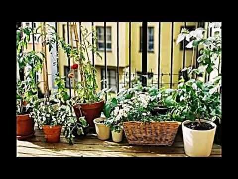 kreative ideen wie sie auf dem balkon kleinen gem se garten anlegen youtube. Black Bedroom Furniture Sets. Home Design Ideas
