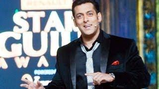 Salman Khan Attacks Shahrukh Khan @ Star Guild Awards 2013