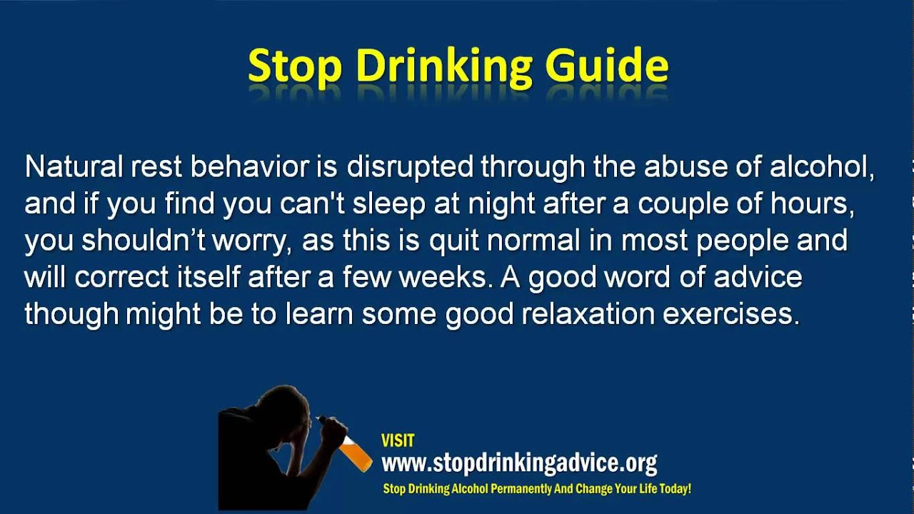 Quitting Drinking And Smoking Side Effects