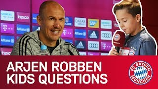 """Robbie? I'll convince the lads!"" 