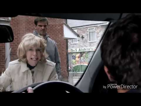Coronation Street - David's Car Crash (21st October 2016)