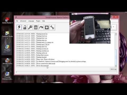 Rotear Xperia Mini Pro Con Android 4.0