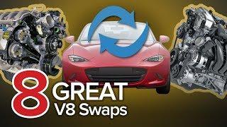 8 Amazing V8 Engine Swaps: The Short List