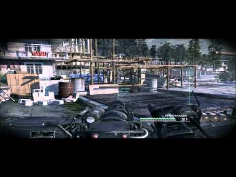 modern warfare 3 mini gun droid gamplay footage mission