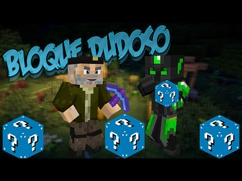 Bloque Dudoso!! - Willyrex Vs Staxx - Carrera épica Lucky Blocks - Minecraft video