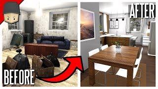 House Flipper - SELLING THE BUNKER HOUSE! (House Flipper Gameplay)