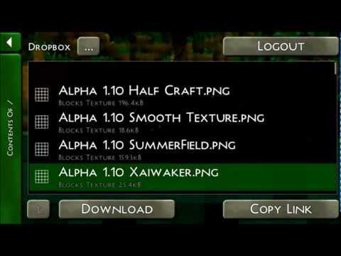 Survivalcraft: Uploading and Downloading Worlds Tut.