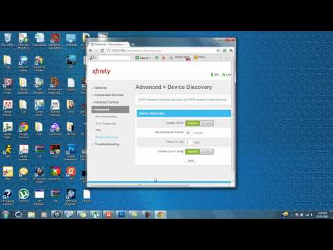 How to open nat on comcast xfinity standard modem