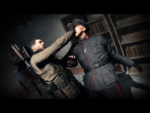 17 Minutes of Sniper Elite 4 Gameplay in 1080p