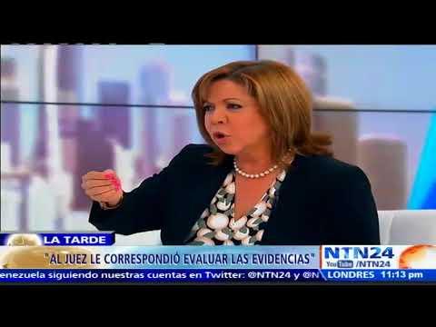Fiscal destituida Luisa Ortega Díaz: Guardia Nacional me ayudó a salir de Venezuela P1