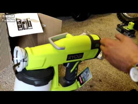 Ryobi Speed Sprayer Paint Gun - RustySkull Productions