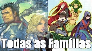 Todas as FAMÍLIAS da HISTÓRIA dos PERSONAGENS de League of Legends