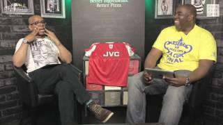 Legend Ian Wright and Robbie Choose Arsenal's All-Time Best XI