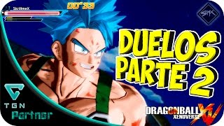 | DRAGON BALL XENOVERSE | DUELOS DEL EVENTO | PARTE 2 |