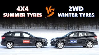 4WD VS Winter Tyres - Do you need winter tyres if you have 4WD?