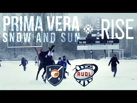 Prima Vera 2015 : snow and sun | AUDL | ultimate frisbee | Montreal Royal