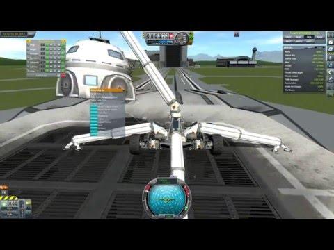 Kerbal Space Program: Spider2 - Mobile Crane