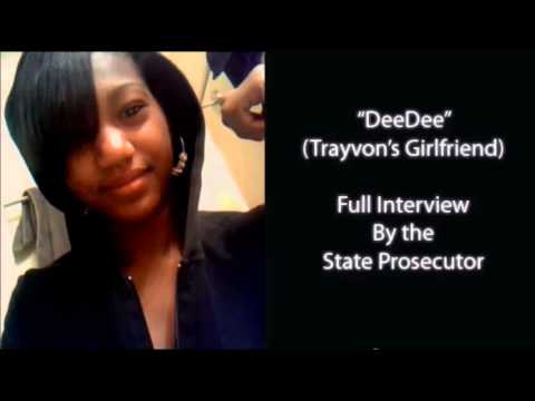 Deedee is lying, Prosecution helps her lie. Trayvon Martin George Zimmerman