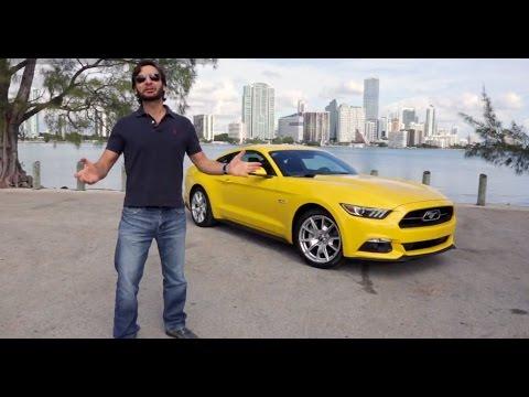 Prueba Ford Mustang 2015 (Español)
