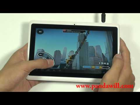 7-inch ICS Tablet Running All Winner A13 Processor Priced at $76 Only