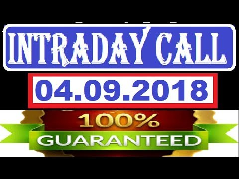 IntraDay Top 3 Jackpot Call 04.09.2018 || today stock || intraday || best stock for 2018