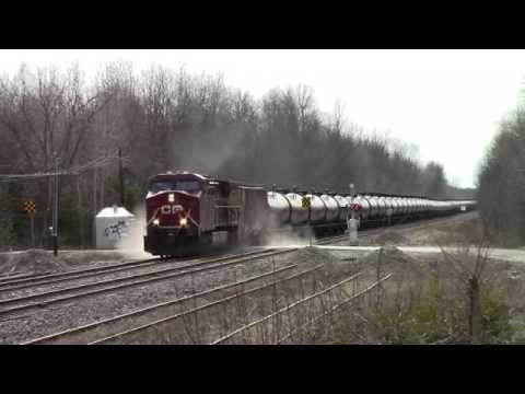 Canadian Pacific | Loaded Ethanol Train