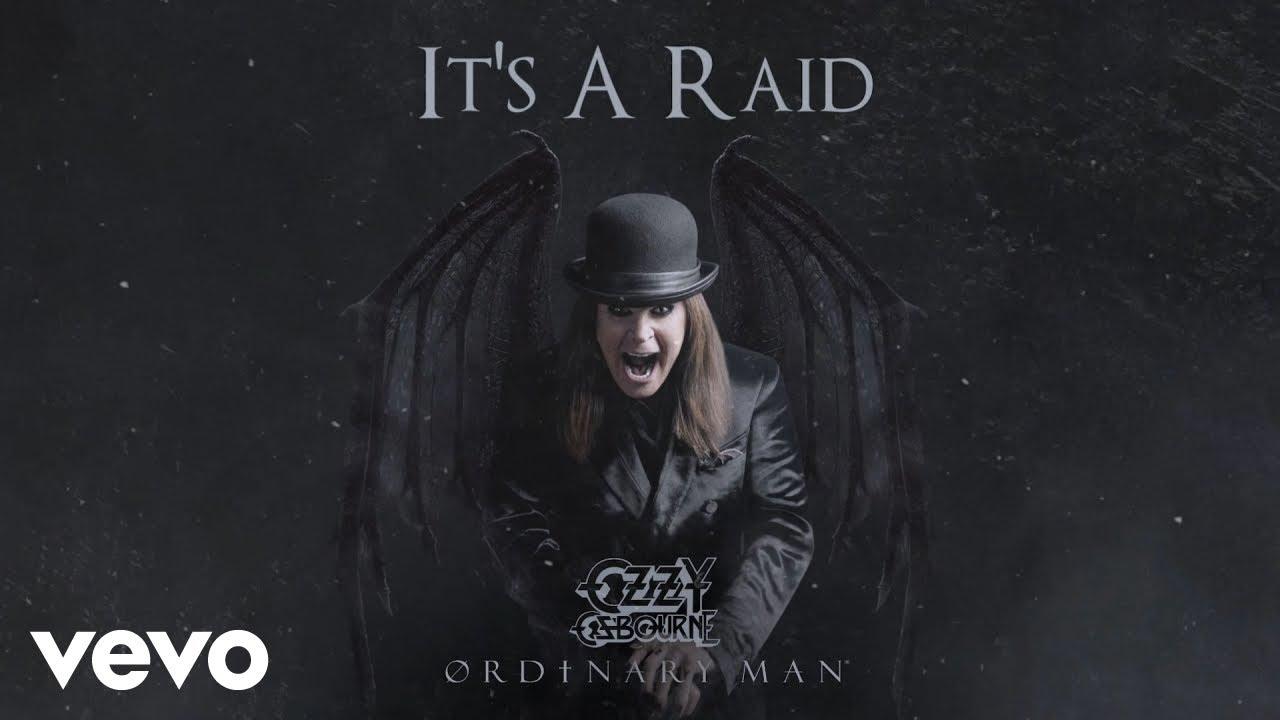 "Ozzy Osbourne - ""It's A Raid (ft. Post Malone)""の試聴音源を公開 新譜「Ordinary Man」2020年2月21日発売予定 thm Music info Clip"