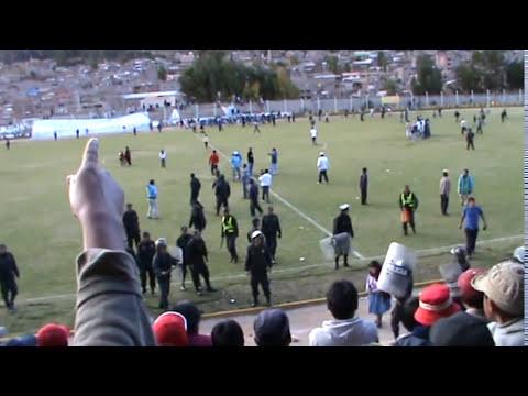 HUANCAVELICA-Bronca en el estadio