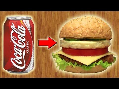 Как сделать круглую ЯИЧНИЦУ для БУРГЕРА из банки Coca-Cola