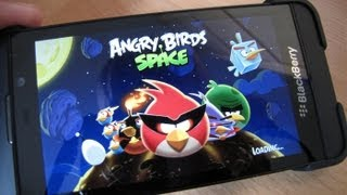Angry Birds Space on BlackBerry 10