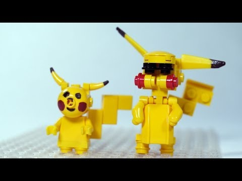 How To Build: LEGO Pikachu (LEGO Pokemon)