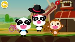 Babybus Kiki and Miu Miu in Adventure | Baby Panda Racing Car Game