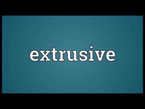 Header of extrusive