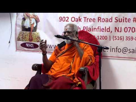 Courtallam Swamiji Discourse on Siva Puranam SaiDatta 102414 pravachanam Part 1