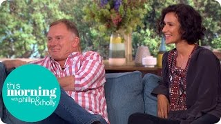 Robert Glenister And Indira Varma On New Conspiracy Thriller Paranoid | This Morning