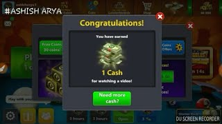 8Ball pool Free Cash Trick 101% Working...