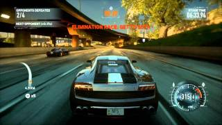 Need for speed The run on EVGA GTX 460 - Gameplay 1080p DX11 Lamborghini (2/2)
