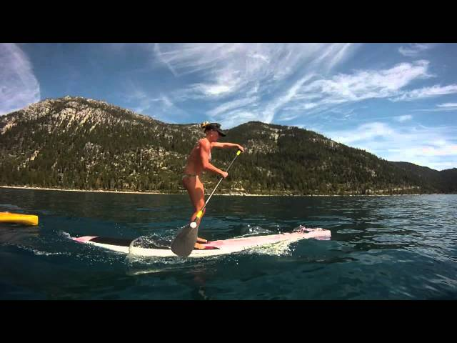 "Candice Appleby's New 12'6"" Joe Bark Surftech SUP"