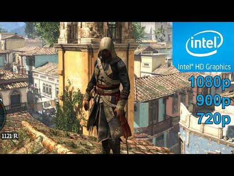 Assassin's Creed IV: Black Flag GamePlay [PC] in Intel HD Graphics 4400  / 2K ( 1920x1080 ) 2017