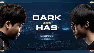 Has vs Dark PvZ - Group C Elimination - 2018 WCS Global Finals - StarCraft II