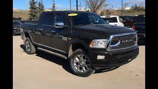 2018 Ram 2500 Limited 4X4 Heavy Duty | Hemi 6.4L V8 | Edmonton Alberta | 18RC1990A | Crosstown DCJR