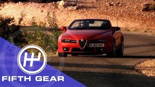Fifth Gear: Alfa Romeo Spider Review
