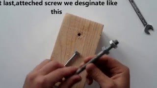 vida sökme - How To Remove A Screw, Bolt Without any Tools   Tool Hacks