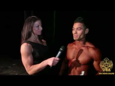 Jeremy Buenida After Winning the 2013 NPC Junior USA Men's Physique Overall