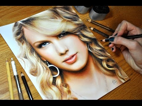Drawing Taylor Swift