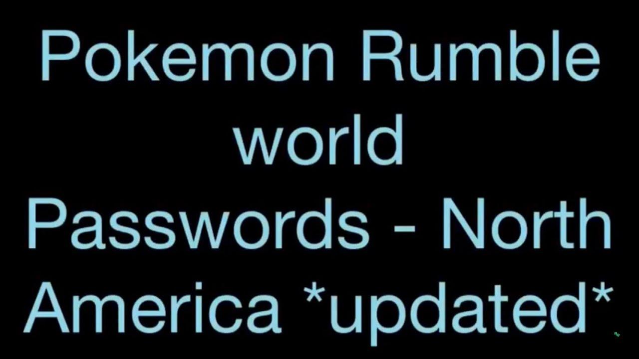 Pokemon Rumble World Legendaries Pokemon Rumble World
