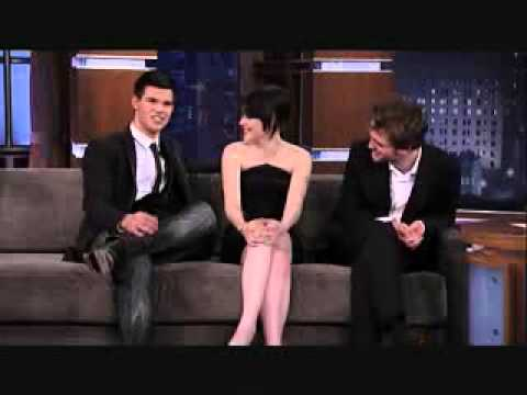 Interview with Kristen Stewart, Robert Pattinson, and Taylor Lautner ♥ || Part Two