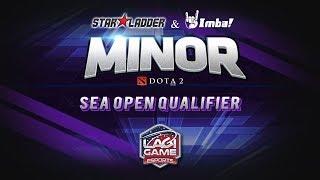 [DOTA2] StarLadder IMBATV DOTA2 Minor - SEA Open Qualifier